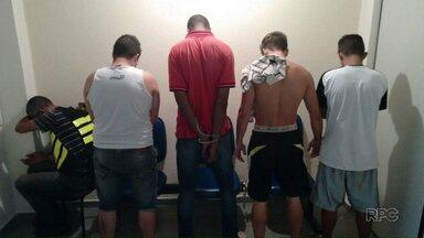 Denarc prende cinco pessoas acusadas de tráfico de drogas - Com elas foram apreendidos 20 quilos de maconha e 35 gramas de crack