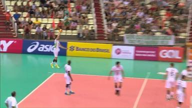 Superliga de vôlei: Maringá enfrenta o Minas - Jogo é no ginásio Chico Neto