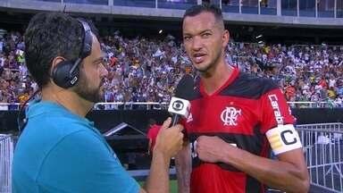 Réver lamenta derrota na Taça Guanabara, mas muda foco para a Libertadores - Réver lamenta derrota na Taça Guanabara, mas muda foco para a Libertadores