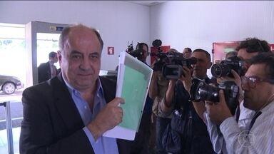 TSE ouve três delatores da Odebrecht sobre chapa Dilma-Temer - O primeiro a ser ouvido foi Hilberto Mascarenhas, que comandou o chamado departamento de propina da empresa. Cláudio Melo Filho, ex-diretor de Relações Institucionais, também prestou depoimento.