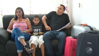 Família fica com prejuízo de R$ 20 mil após cancelamento de viagem - A família mora em Luís Eduardo Magalhães, na região oeste, e tinha planejado uma viagem para a Itália. Confira na reportagem.