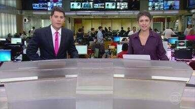 Jornal Hoje - Edição de terça-feira, 07/03/2017 - A economia do Brasil encolhe 3,6% em 2016 e o país tem a pior recessão da história. Os números, divulgados nesta terça (7) pelo IBGE, mostram que a agropecuária foi o setor que teve mais perdas, mas também é o único que dá sinais de recuperação. E mais as notícias da manhã.