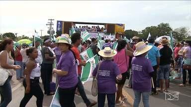 Dia Internacional da Mulher é marcado no MA com protestos contra Reforma da Previdência - Mobilização no estado maranhense foi liderada na quarta-feira (8) por mulheres trabalhadoras rurais.