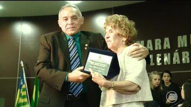 Personalidades femininas recebem homenagem na Câmara Municipal de Teresina - Personalidades femininas recebem homenagem na Câmara Municipal de Teresina