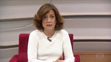 Miriam Leitão analisa sinais de reaquecimento da indústria - Miriam Leitão ressalta esse 'respiro' da produção industrial depois de 34 quedas, apesar de uma queda de 0,1% em comparação com o mês anterior,