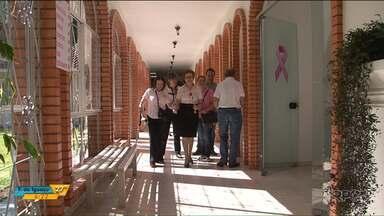 """Casa em Francisco Beltrão atende pessoas que viajam para fazer tratamento de câncer - A Casa de Apoio """"Mão Amiga"""" tem capacidade para atender até 50 pessoas."""