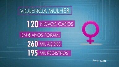 Confira os números da violência contra a mulher - Assista a seguir.