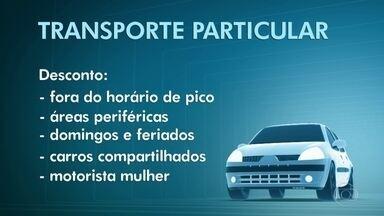 Prefeitura de SP passa a cobrar taxa maior para transporte por aplicativo - Decreto de 2016 será colocado em prática, aumentando a tarifa por quilômetro rodado de R$ 0,10 para R$ 0,40.