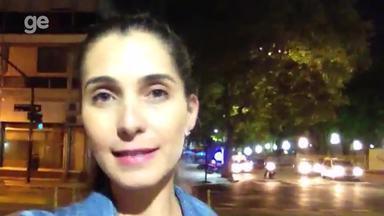 Janaína Castilho traz novidades do Atlético-PR direto de Buenos Aires - Clube paranaense encara na capital argentina o San Lorenzo, pela segunda rodada do Grupo 4 da Taça Libertadores.
