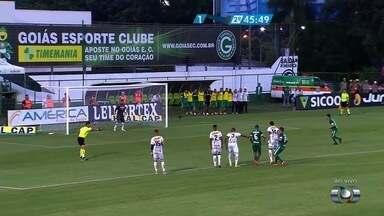 Veja os principais lances de Goiás 1 x 1 Anápolis - Campeonato Goiano - Pedro Henrique abre o placar para o Anápolis, Otacildo empata, e Juan ainda perde pênalti.