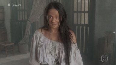 Vivianne Pasmanter fica irreconhecível para viver dona de estalagem em 'Novo Mundo' - Veja a transformação de outros atores do elenco da nova novela das seis