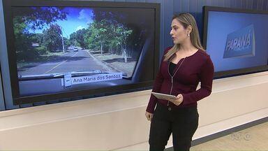 Moradora mostra que prefeitura roçou mato denunciado no PARANÁ TV - Ela mandou a sugestão pelo aplicativo Você na RPC