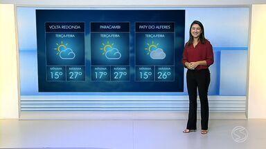 Confira a previsão do tempo para esta terça-feira no Sul do Rio - Veja com mais detalhes como fica as temperaturas em algumas cidades da região.