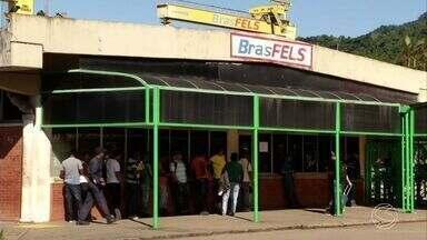 Redução de postos de trabalho em Angra dos Reis, RJ, preocupa moradores - Números são do Ministério do Trabalho.