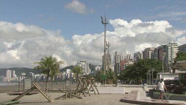 Outono chega com temperaturas mais amenas na Baixada Santista - Estação é considerada adequada para a prática de esportes ao ar livre