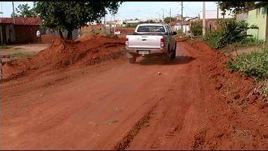 Prefeitura de Gurupi diz que obra de canalização será retomada após período chuvoso - Prefeitura de Gurupi diz que obra de canalização será retomada após período chuvoso