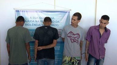 Quadrilha suspeita de roubos e homicídios é presa na Serra, na Grande Vitória - Chefe do grupo continua foragido.
