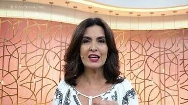 Fátima Bernardes relembra crônicas de Chico Anysio para o 'Fantástico' - Apresentadora também destaca seu personagem preferido, painho