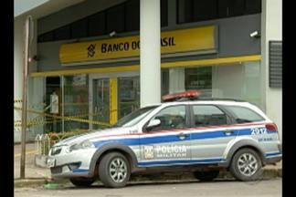 Divisão de Roubo a Bancos investiga assalto a uma agência bancária na BR-316 - Até agora ninguém foi preso. Ontem (22), o esquadrão contra bombas da PM foi acionado para recolher o artefato deixado pelos criminosos.