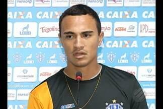 Artilheiro do Papão, alfredo espera ganhar chance de titular em clássico - Jogador já marcou cinco gols em seis jogos com a camisa Alviceleste