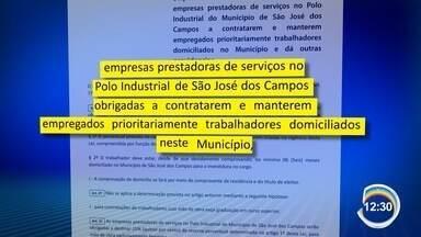 Manhã foi marcada por confusão no PAT em São José - Candidatos reivindicam vagas de emprego na Revap.