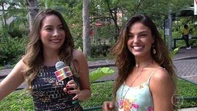Isis Valverde fala sobre a preparação para viver uma sereia - Atriz conta sobre as gravações em Manaus e sobre a Ritinha, sua nova personagem