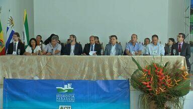 Funcionamento de hidrovia é discutido em Cáceres - Funcionamento de hidrovia é discutido em Cáceres