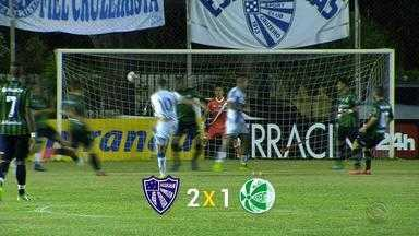 Kozlowski faz dois, e Cruzeiro vence Juventude por 2 a 1 pelo Gauchão - Vitória deixa o time de Gravataí com 14 pontos na competição.