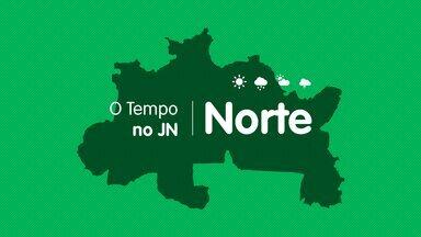 Veja a previsão do tempo para sexta-feira (24) na Região Norte - Veja a previsão do tempo para sexta-feira (24) na Região Norte