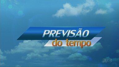 Chuva deve chegar à região de Maringá nesta sexta - Na cidade, temperatura chega aos 31 ºC
