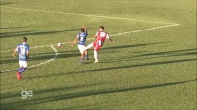 Veja o lance em que Jô, da URT, se lesionou - Jogada foi no fim da partida contra o Villa Nova, que a URT venceu por 2 a 1