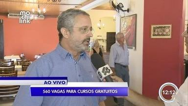 Sinhores oferece 560 vagas gratuitas em cursos e palestras - Ações acontecem em São José dos Campos, Jacareí e Campos do Jordão.