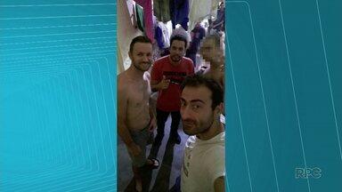 Presos da Operação Bala da Noite são isolados após selfie na cadeia - O Departamento Penitenciário também disse que retirou o celular dos presos.
