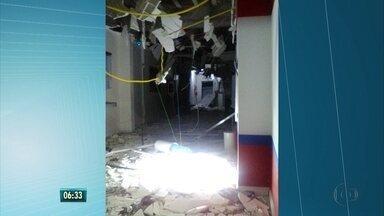 Bandidos fazem investida contra bancos em João Alfredo - Moradores contaram que bandidos chegaram atirando pro alto.