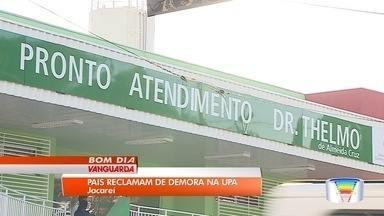 Pronto-socorro infantil de Jacareí é alvo de reclamações no primeiro dia de funcionamento - Local foi inaugurado nesta semana.