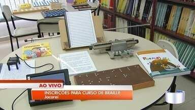 Curso de braille está com inscrições abertas em Jacareí - Oportunidade é oferecida pela biblioteca municipal.