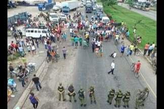 Moradores de Marituba voltaram a interditar a rodovia BR-316 na última terça-feira, 4 - Eles protestam contra o funcionamento do aterro sanitário presente no município