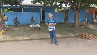 Moradores de Ji-Paraná são orientados a construir calçadas e lixeiras - Calçadas devem seguir normas para que o espaço comum seja adequado à toda população.