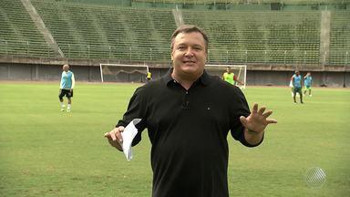 Resenha com Thitji vai até ao Estádio de Pituaçu - O quadro será exibido no Globo Esporte de sábado (8).