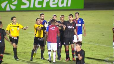 Veja o vídeo da confusão no final de Paraná x Atlético-PR nas quartas de final do Estadual - Veja o vídeo da confusão no final de Paraná x Atlético-PR nas quartas de final do Estadual