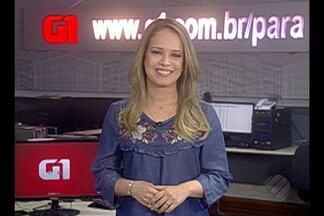 Veja os destaques do G1 Pará desta segunda, 10 - A jornalista Thais Rezende traz as informações.