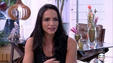 Ana Maria Braga recebe Marinalva na Casa de Cristal - Paratleta conta sua motivação para participar do Big Brother e relembra momento do acidente que a fez perder uma perna aos 15 anos de idade.