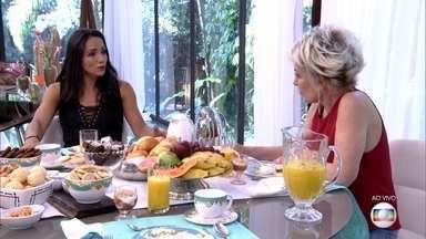 Marinalva tenta entender a popularidade de Marcos no BBB17 - Paratleta diz que manteve a lealdade dentro da casa e não se arrepende de seu comportamento no programa