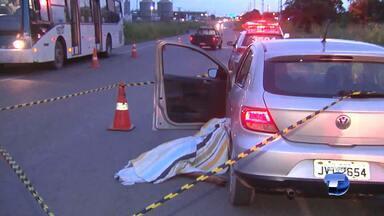 Policial Militar é encontrado morto dentro de carro na BR-163 - Polícia investiga caso e não descarta a possiblidade de latrocínio do militar identificado como Alcélio Farias do Carmo.
