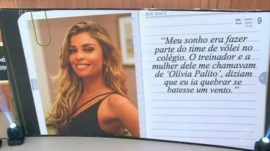 Grazi Massafera, Marcos Caruso e Guilherme Weber também sofreram bullying - Atriz conta que sonhava em participar da equipe de vôlei da escola, mas o treinador a chamada de Olívia Palito