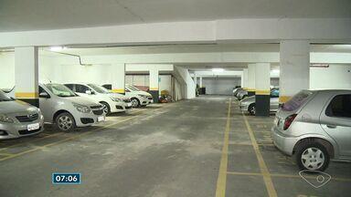 Garagem de condomínio em Cariacica, ES, é liberada pela perícia - Local estava com risco de desabamento.