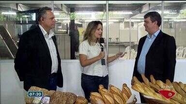 Encontro traz novidades no setor de padarias no ES - Por lá tem as novidades em equipamentos, tecnologia e tendências de mercado.
