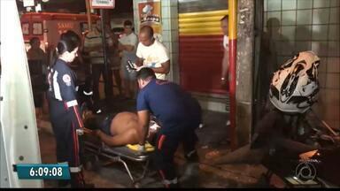 Vários acidentes de trânsito foram registrados nesta segunda-feira, em João Pessoa - Três acidentes com várias vítimas foram registrados nas tarde e noite desta segunda na capital.