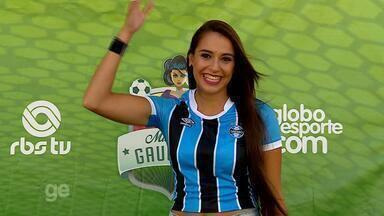 Musa do Grêmio: Tainy Fritzen pede o seu voto - Assista ao vídeo.