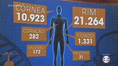 Mais de 34 mil pessoas estão na fila do transplante no Brasil - A maior demanda atualmente é por um rim